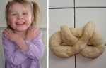 Pretzel prayer photo