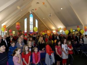St Heliers Church Sunday Pentecost